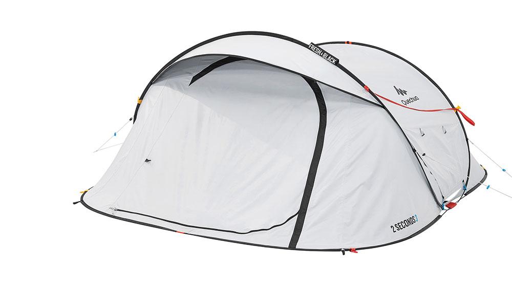 timeless design 15df3 7c79a The new Quechua Fresh&Black 2 Seconds 3 Pop-up Tent
