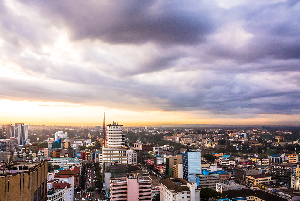 Southern african road trip nairobi to jozi the nairobi skyline above the cacophony of chaos in the streets photo by tyson jopson thecheapjerseys Images