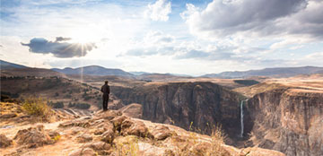 Getaway 4X4 Guide to Lesotho: Way of the waterfalls