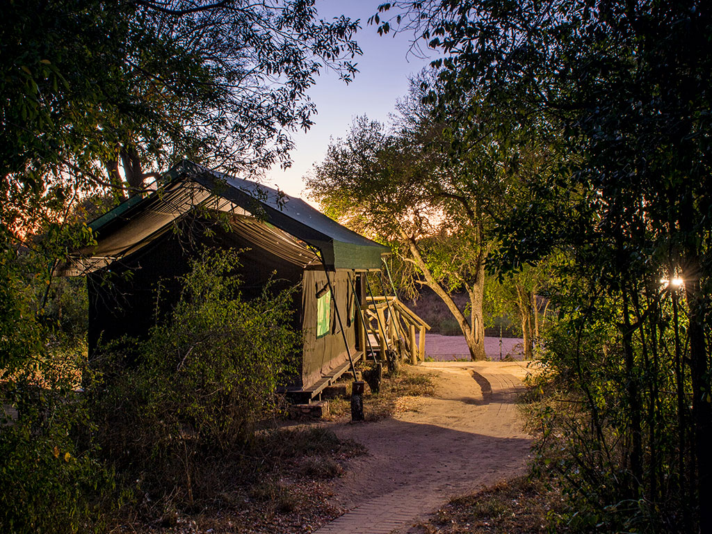 12 glorious tented camps across South Africa