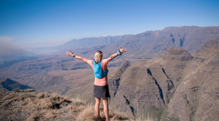 Cathedral Peak Challenge. Image: supplied